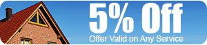 5% Off, Offer Valid on Any Service